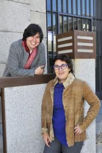 Ana Rosa Alacalde y Montserrat Domínguez