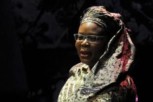 Leymah Gbowee fue contundente durante su charla y destacó la importancia de las mujeres para impulsar el futuro de un paí