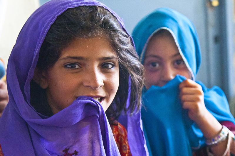 Niñas afganas, DVIDSHUB