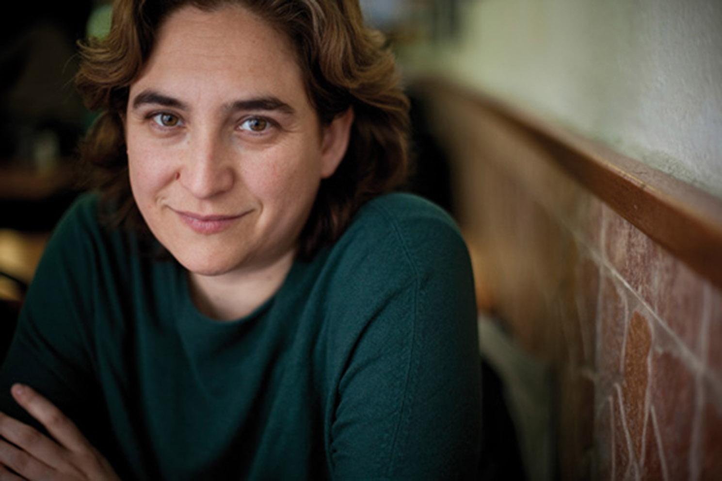 Ada Colau, activista