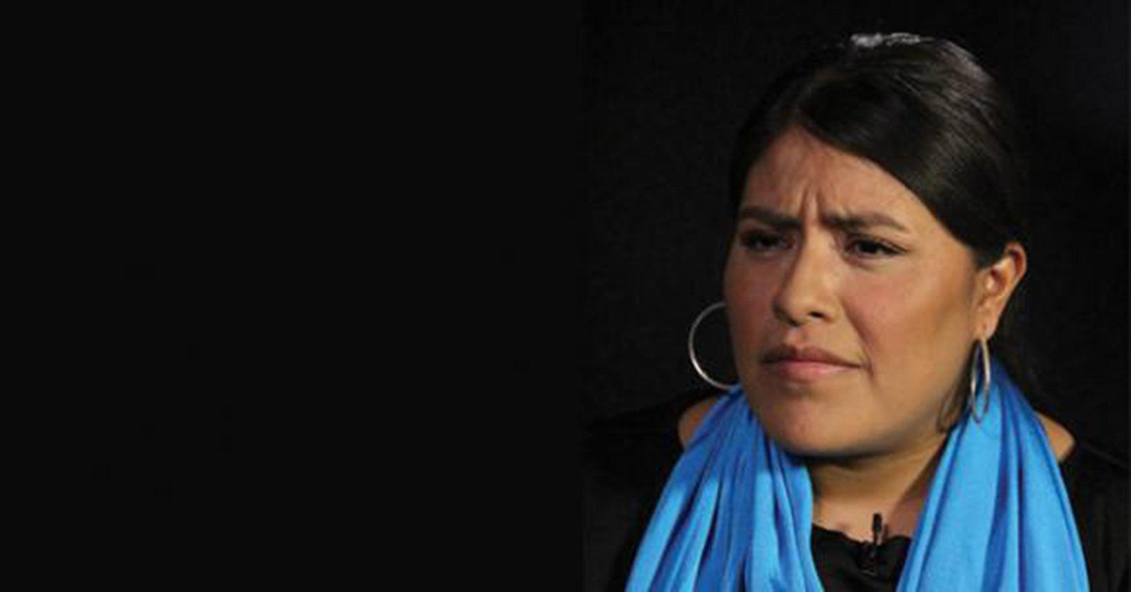 Eufrosina Cruz, activista indígena