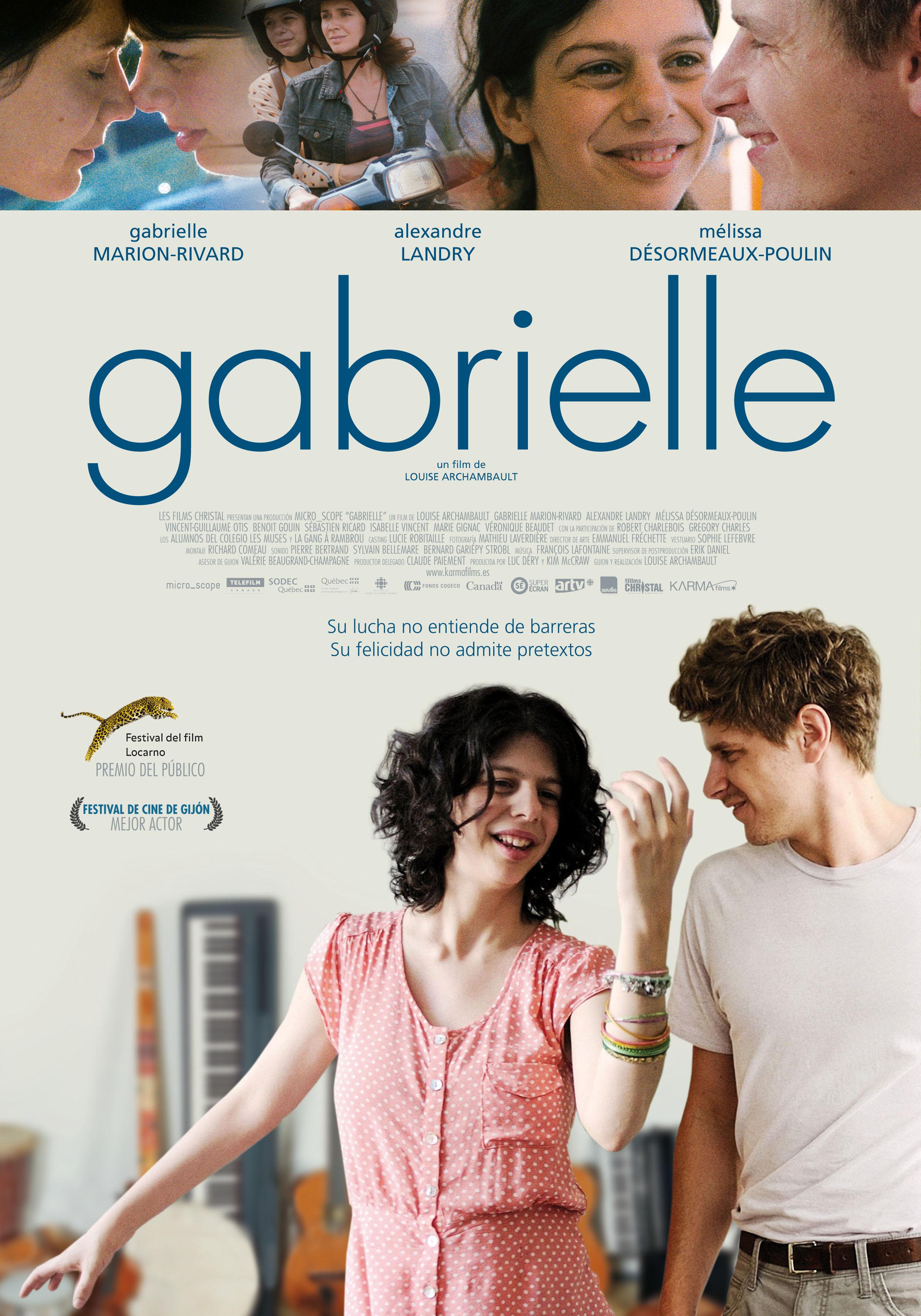 20 de marzo - Gabrielle - Louise Archambault