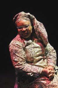 La activista liberiana Leymah Gbowee en la Sala Ex. Presa 1 de La Cárcel_Segovia Centro de Creación
